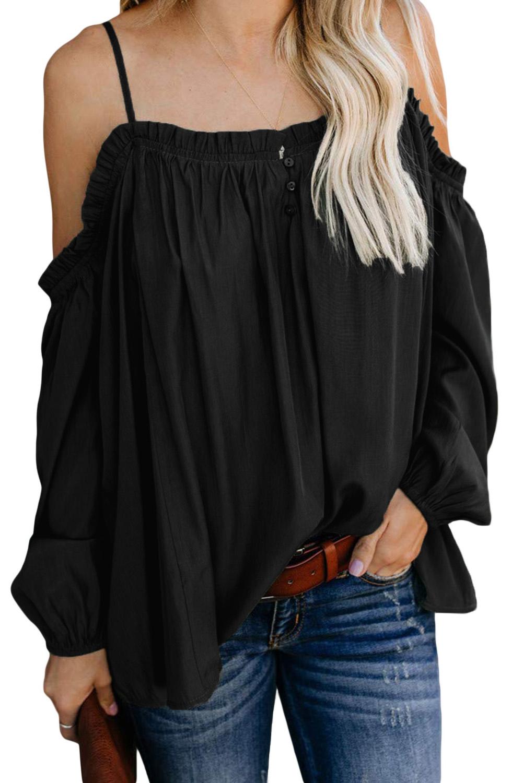 Wholesale Long Sleeve Tops, Cheap Black