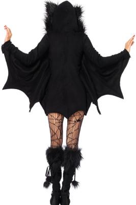 All in Black Bat Kostüm für Erwachsene