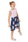 الصغار فستان زهري