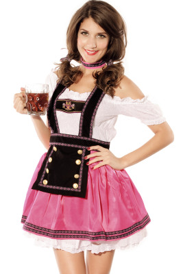 4pcs Costume Doux Flirting Beer Babe