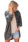 Classic Floral Kimono Cardigan Loose Cover up