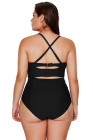 Strappy Neck Swimsuit
