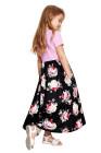 الفتيات الصغيرات فستان ماكسي