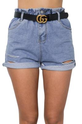 Sky Blue Bloomingdale Shorts