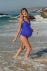 Maternity One-piece swimsuit
