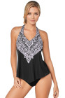Halter Tank Top Swimsuit