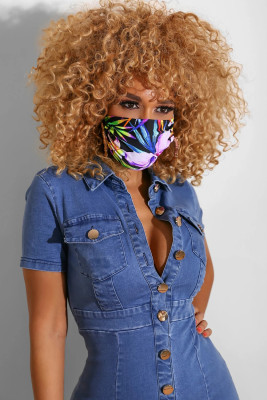 Washable Reusable Print Breathable Mouth Mask