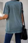 Camiseta de algodón desgastado Supernova