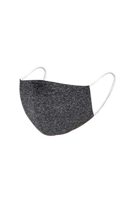 Heathered Black Anti-dust Anti-pollution Adult Face Mask