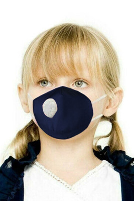 Blue Toddler Breath Protection Valved Respirator Face Mask