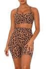 Leopard Shorts Set