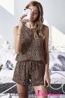 Vêtements d'intérieur léopard