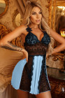 Lace Nightdress Babydoll