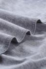 Débardeur en tricot de dentelle gris
