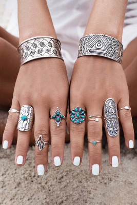 Chic Boho Ring Set