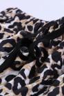 شورت بطبعة جلد الفهد بخصر مطاطي