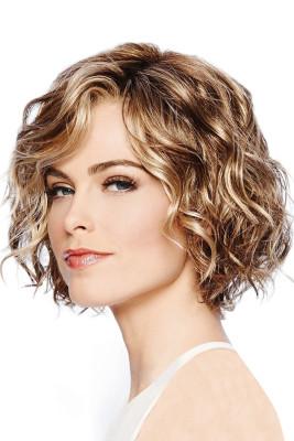 Frauen Perücke lockiges kurzes Haar