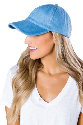 قبعة بيسبول دينم بلو