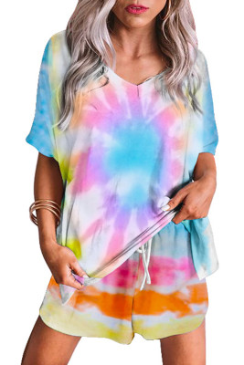 Twist Tie Dye Pajamas Set