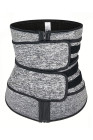 Heather Grey Sauna Sweat Sportgürtel Neopren Body Shaper
