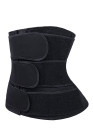 Black 5 Steel Bones Neoprene Belt Waist Trainer with Hook