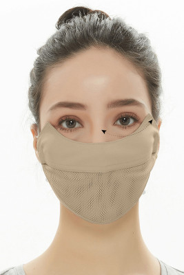 Nude Summer New Unisex Breathable Ice Cool Face Mask