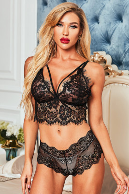 Black Secret Love Bralette