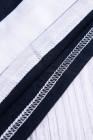 فستان بنمط تيشيرت مع حزام كحلي