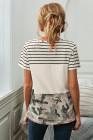 Карманная футболка с цветными блоками Camo