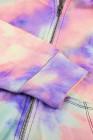 felpe con cappuccio tie dye