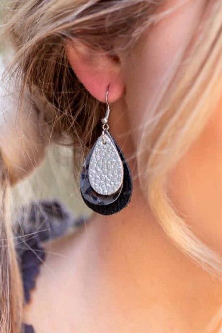 Triple Layer oorbellen