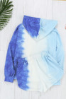 Boardwalk Overlook Seashell Blue Multi Tie Dye Set