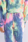 Blue Snuggle Down Tie Dye Lounge Set