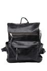 حقيبة ظهر كاجوال سوداء متعددة الاستخدامات