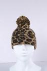 براون ليوبارد بوم قبعة صغيرة