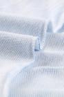 Felpa blu con cappuccio pullover stampa tie-dye