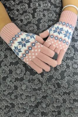 Dzianinowe rękawiczki Funky Cute Lined