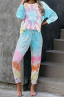 Tie-dye Knit Lounge Set