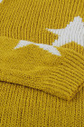 Yellow Knit Star Sweater