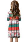 فستان أطفال بألوان متدرجة بجيوب مخفية