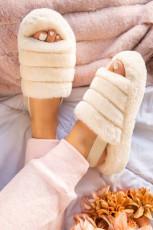 รองเท้าแตะ Apricot Plush