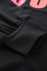 Brauchen Sie mein Kaffee-Taschenpullover-schwarzes Sweatshirt