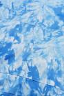 Толстовка с капюшоном и принтом синего цвета