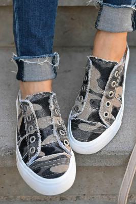 Camouflage Canvas Schuhe