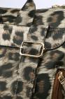 Mochila de viaje de leopardo caqui