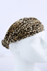 Bandeau léopard en velours Boho