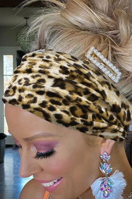 Leopardenmuster Stirnband