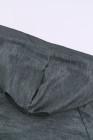 Pull à capuche en tricot gris Aztec