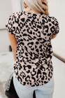 В футболку с леопардовым принтом