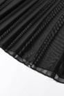 黒にこだわったレースナイトドレスとひもセット